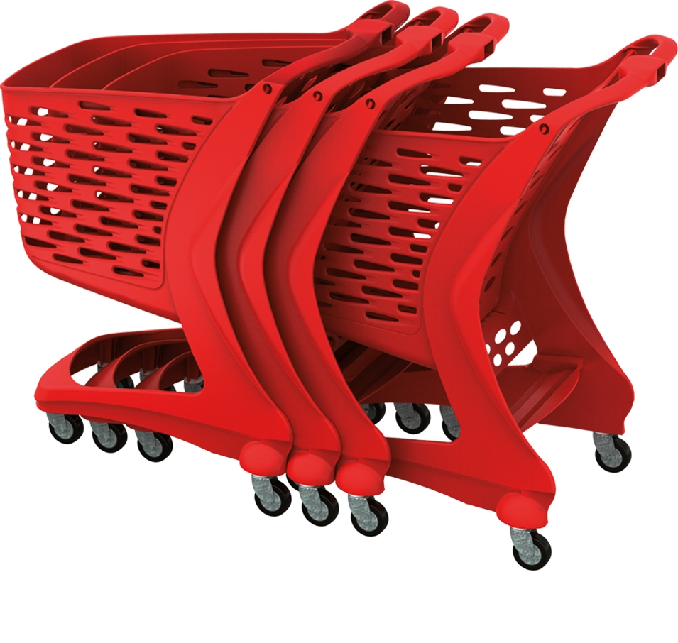 Wózek Rabtrolley MINI Basic 80l
